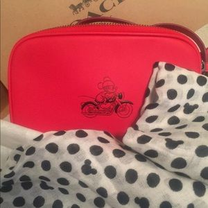 Coach Disney Crossbody Bag & Disney Scarf